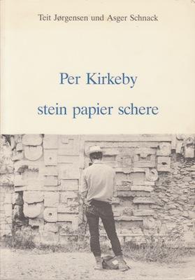 Per Kirkeby stein papier schere