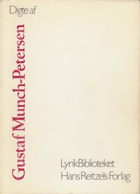 Digte af Gustaf Munch-Petersen