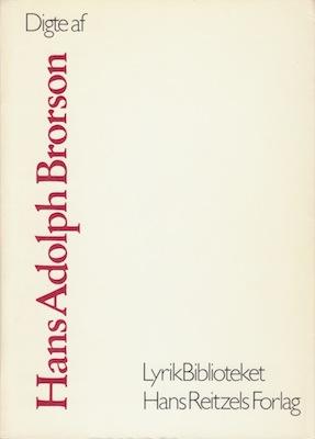 Digte af Hans Adolph Brorson