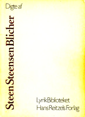 Digte af Steen Steensen Blicher